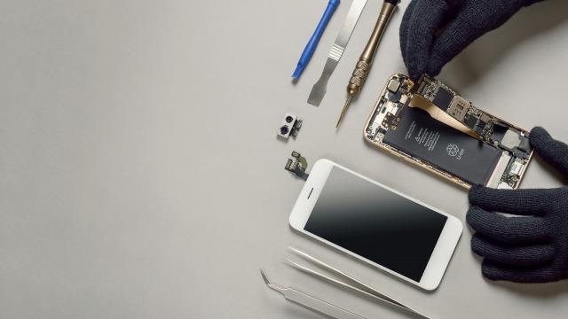 WiMAXのバッテリーを交換する方法